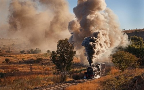 Rail journeys in South Africa: The Diamond Express