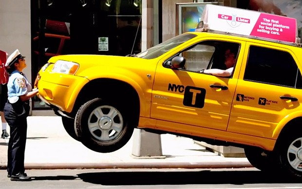 New Yorkers pranked by cab-lifting meter maid