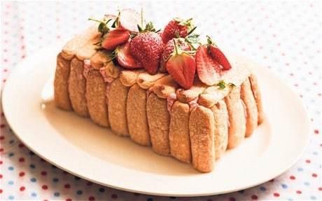 Rose Prince's Baking Club: strawberry charlotte