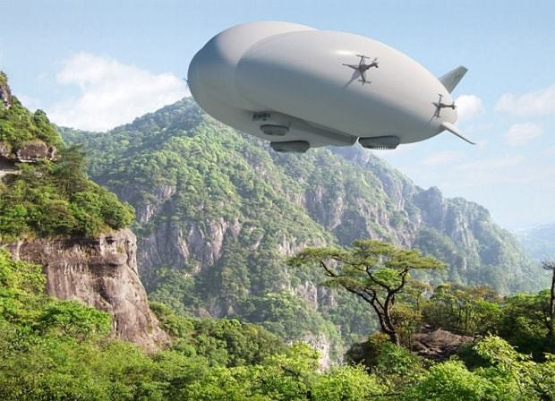 How hybrid airships could bring back a centuries-old idea to the skies