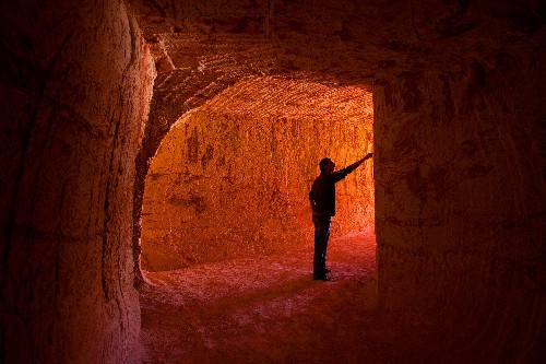 Welcome to Coober Pedy, the world's strangest town