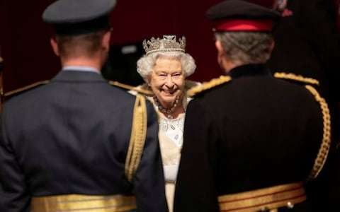 If only one knew what the Queen were really thinking...