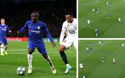 N'Golo Kante is reveling in attacking freedom afforded by Frank Lampard's Chelsea tactics