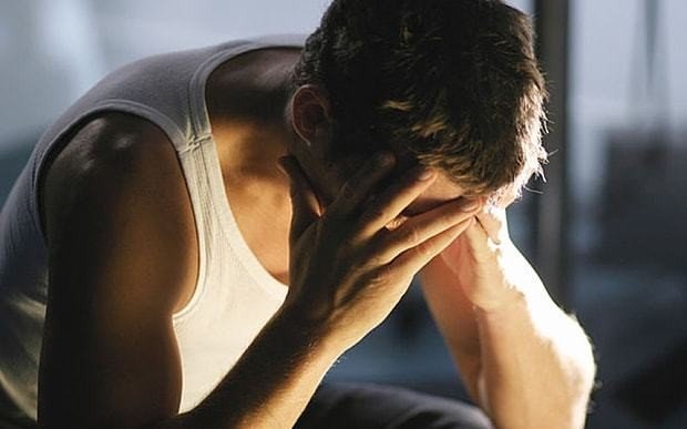 Men need to open up about depression, not man up and keep quiet