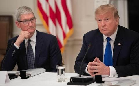 Donald Trump really could force tech firms like Apple to pull out of China, White House officials claim