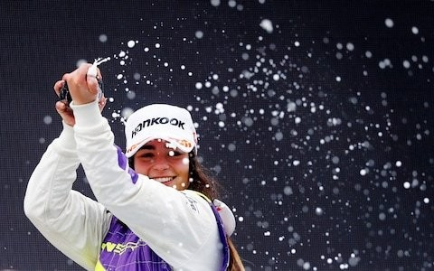 Jamie Chadwick wins inaugural W Series race at Hockenheim and has F1 in her sights