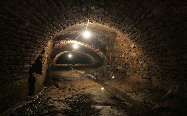 Ancient tunnels discovered underneath Mexican city of Puebla
