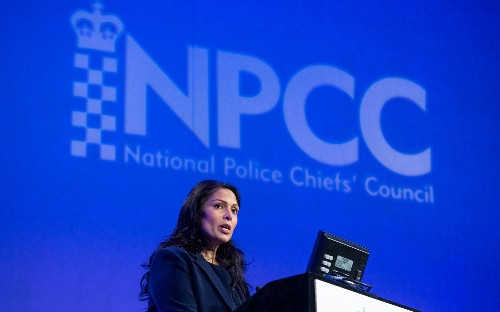 Priti Patel: Police have 'no excuses' for failing to tackle crime