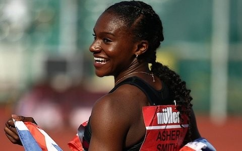 Dina Asher-Smith 'confident' of World Championships double glory