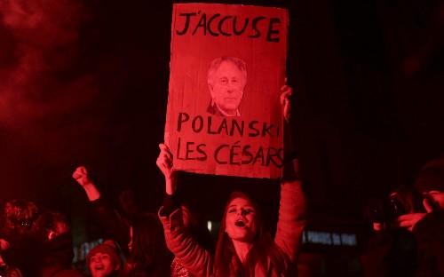 Polanski walkout women Cesars France film