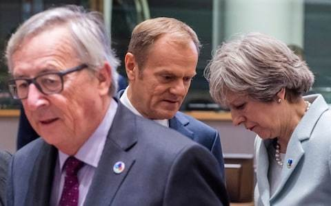 EU leaders seem just as scared as Theresa May of a no-deal Brexit