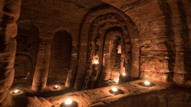 Rabbit hole leads to '700-year-old Knights Templar' caves