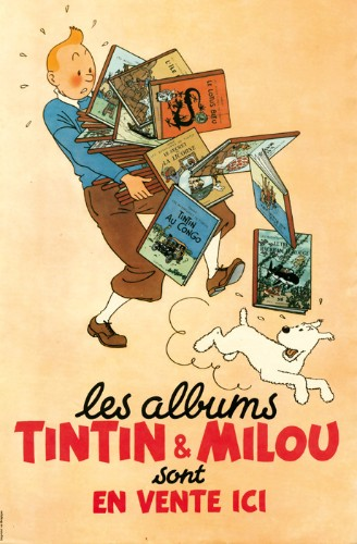Tintin's lost treasures