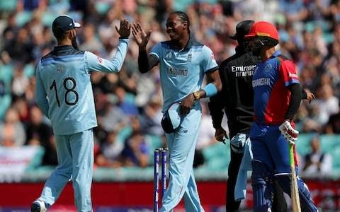 England vs Afghanistan, World Cup 2019 warm-up: live scoreboard