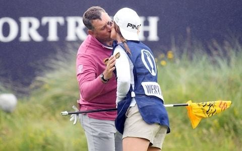 How Lee Westwood's girlfriend caddie is playing an influential role in his bid to claim the Claret Jug