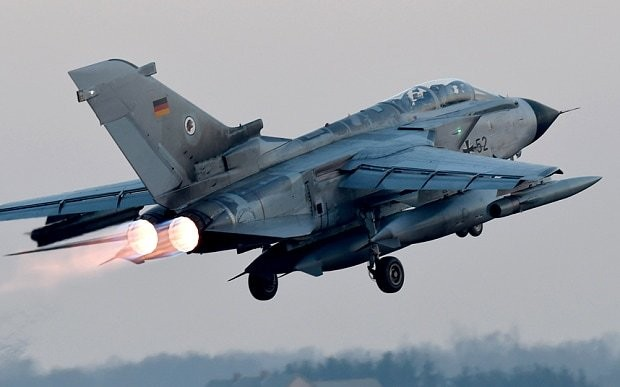 German aircraft in Syria 'regularly shadowed' by Russia