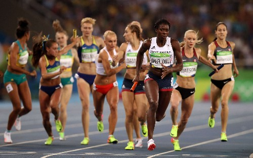 Great Britain's women's 4x400m relay team claim sensational bronze to end Rio Olympics on a high