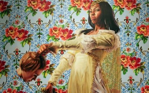 Obama portrait artist's past work depicted black women decapitating white women