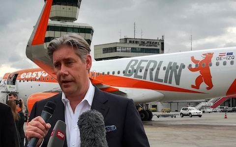 EasyJet chief hits out at Whitehall 'favours' to Flybe