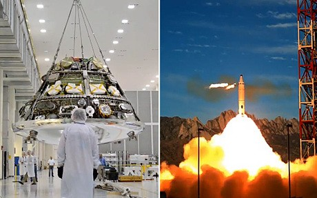 How Nasa's 'Orion' Mars capsule spaceship will work