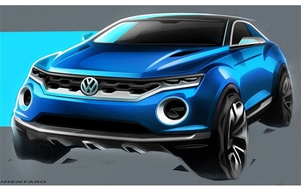 VW takes on Juke with T-Roc SUV concept