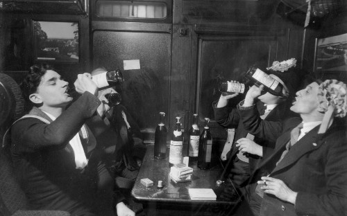What to do with rowdy train drinkers: how about a designated boozy carriage?
