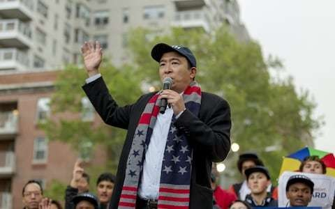 Democratic candidate Andrew Yang predicts 'mass riots and violence' if impact of technology goes unchecked