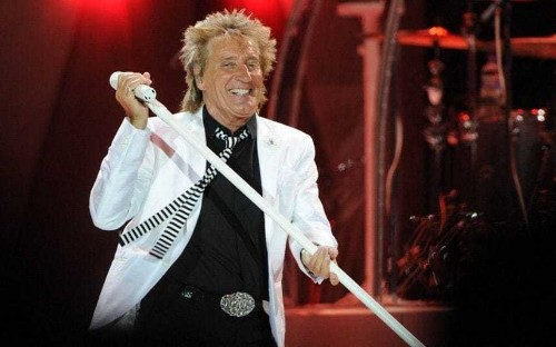 Sir Rod Stewart: 'I was conceived in an Anderson bomb shelter during the Second World War'
