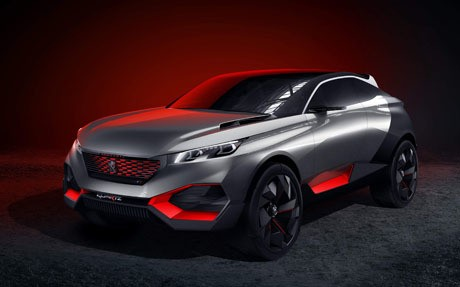 Peugeot planning four-door coupé and large 4x4