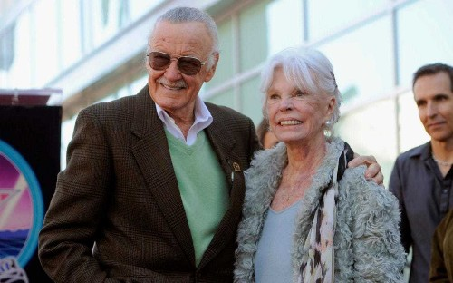Joan Lee, inspiration behind Spider-Man's Gwen Stacy and wife of Marvel mastermind Stan Lee, dies aged 93