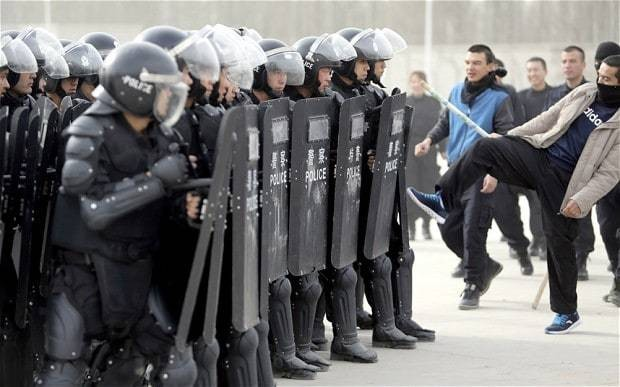 China jails 113 for terrorism in Xinjiang mass trial