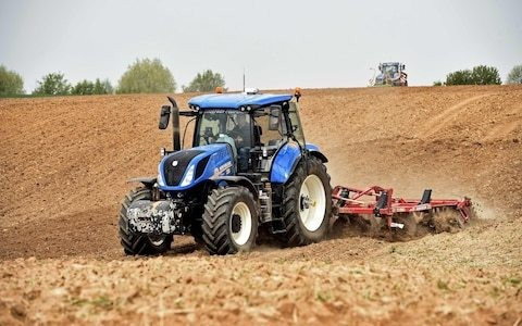 Time to ditch the tractor? Why ploughing up the soil could be bad for farming