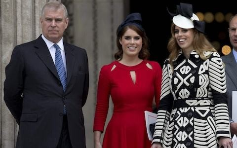 Beatrice and Eugenie 'deeply distressed' over Epstein scandal but stand by Prince Andrew, friends say