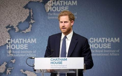 Prince Harry delivers 'barefoot speech on saving the planet' at top-secret elite Google Camp