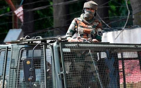 Militant attack on Kashmir police leaves two dead