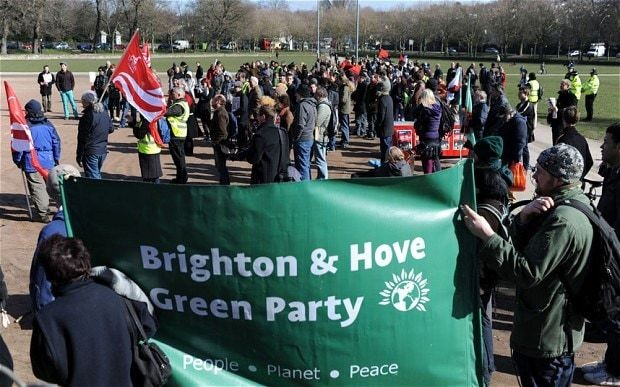Britain under the Green Party: Zero growth, no army, and everyone either high or hungry