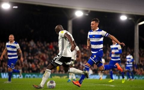 Aboubakar Kamara double helps Fulham defeat QPR and move to fourth in Championship