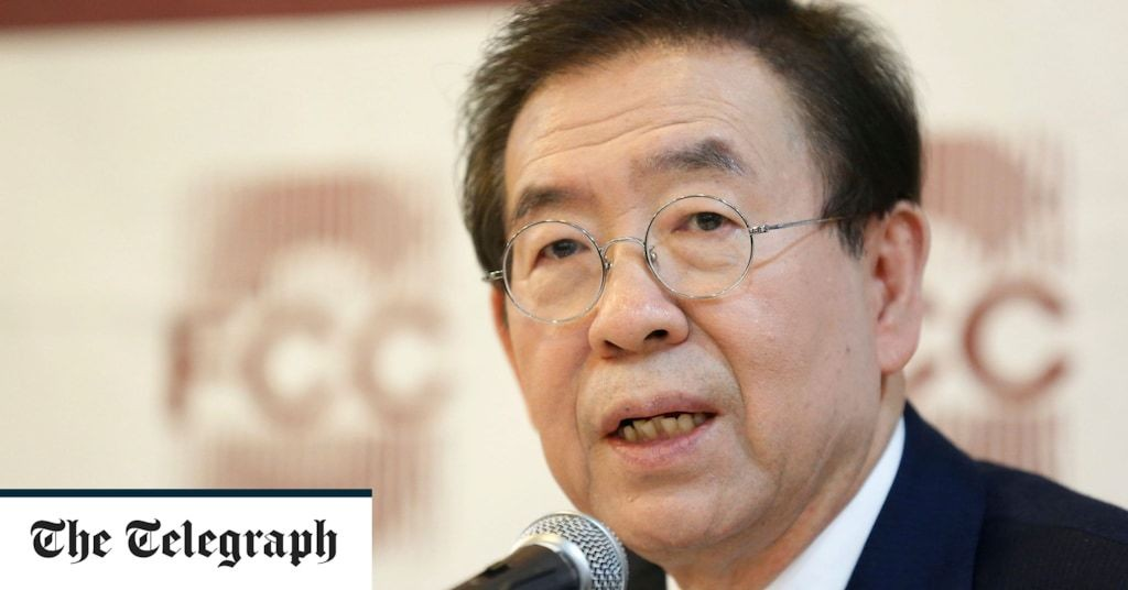 Police search for the missing mayor of Seoul