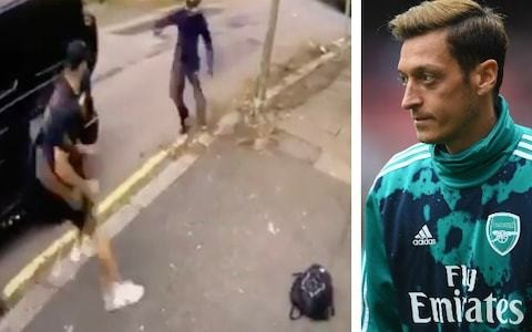 Mesut Ozil opens up about terrifying carjacking ordeal: 'I was worried they were going to open my wife's door'