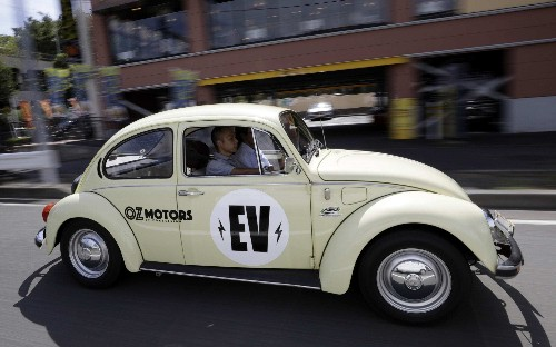 Meet the e-Bug: Japanese engineers convert classic Volkswagen Beetle to battery-electric power