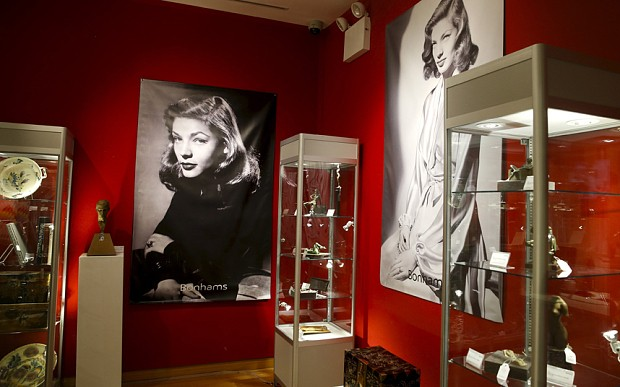 Hollywood history up for auction as Lauren Bacall's possessions go on sale