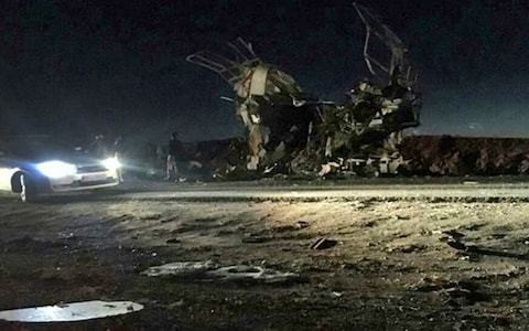 Suicide bomb kills 27 Iranian Revolutionary Guard, state media says