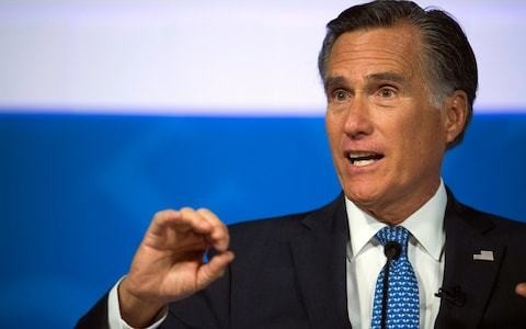 Mitt Romney doesn't rule out voting to remove Donald Trump as feud escalates