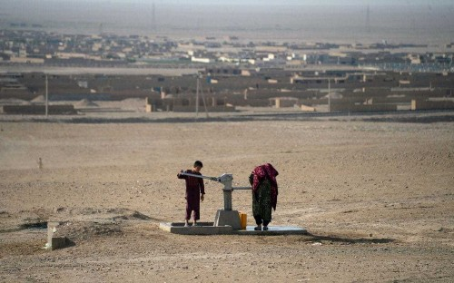 UK sends £10m of emergency food aid to starving Afghans facing worst drought in decades