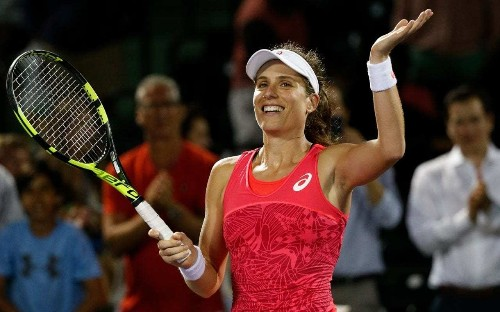 Johanna Konta defeats Venus Williams to set up Miami Open final showdown with Caroline Wozniacki