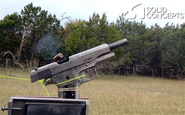 US firm claims to have made first 3D-printed metal gun