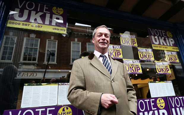 Nigel Farage: I will quit as Ukip leader if I am not MP in two months' time