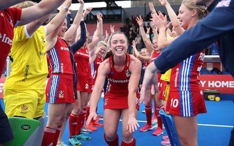 Grace Balsdon pays tribute to coach and mentor Kwan Browne after goal for Great Britain against Belgium