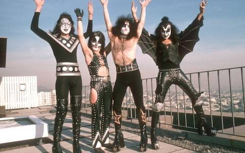 Goodbye, Kiss: How the glam-rockers laughed all the way to the bank