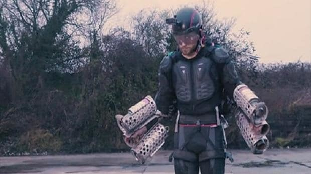 Madcap inventor turns Iron Man with real-life flying suit